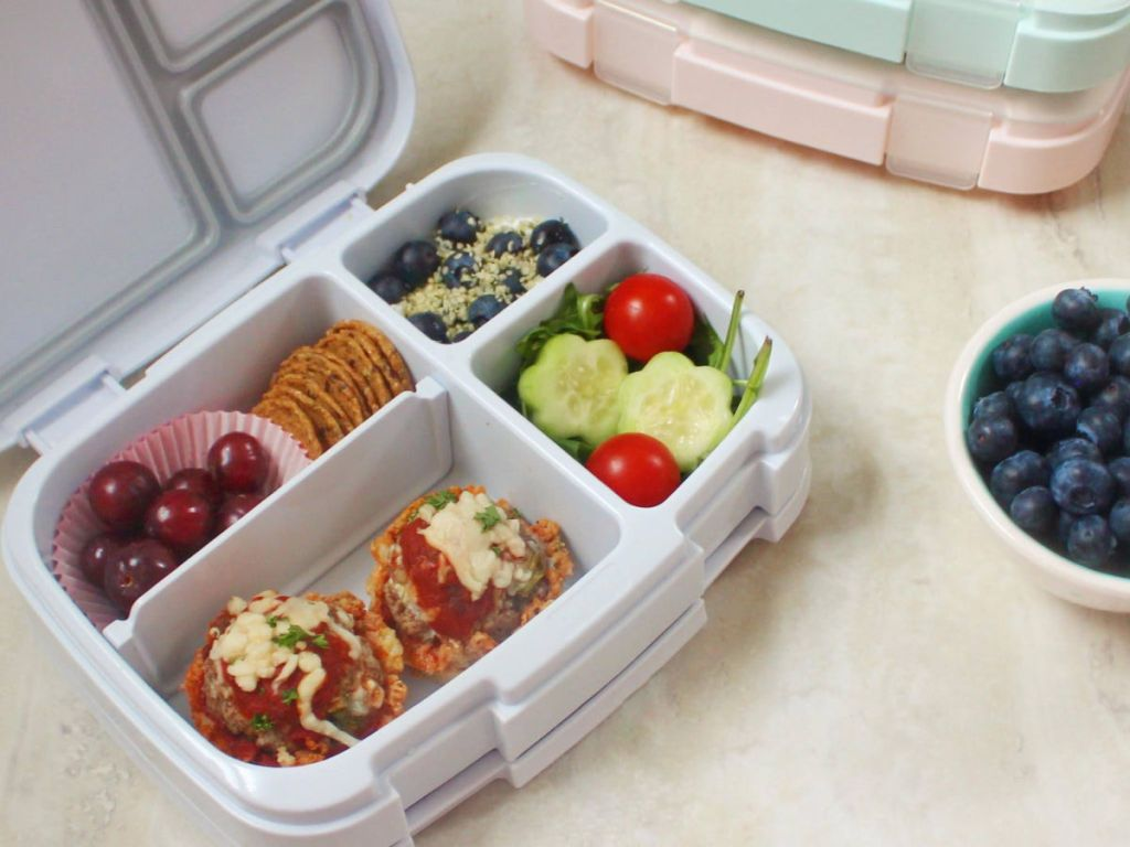 bentgo 4 container box with veggies