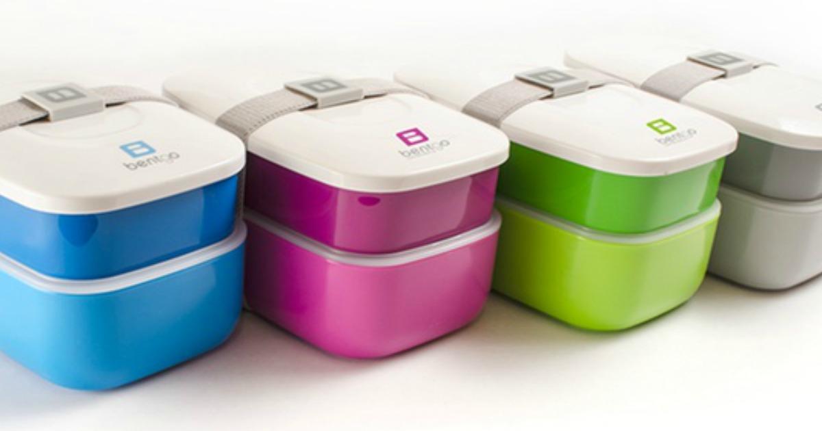 4 Bentgo stackable bento box sets in various colors
