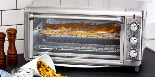Black & Decker 8-Slice Air Fryer Toaster Oven Just $49.99 Shipped (Regularly $80)