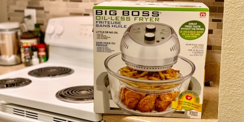 Big Boss Oil-Less Air Fryer Only $37.74 Shipped at JCPenney (Regularly $107)