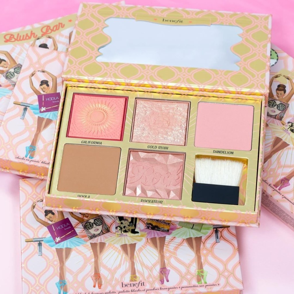 benefit blush bar on table