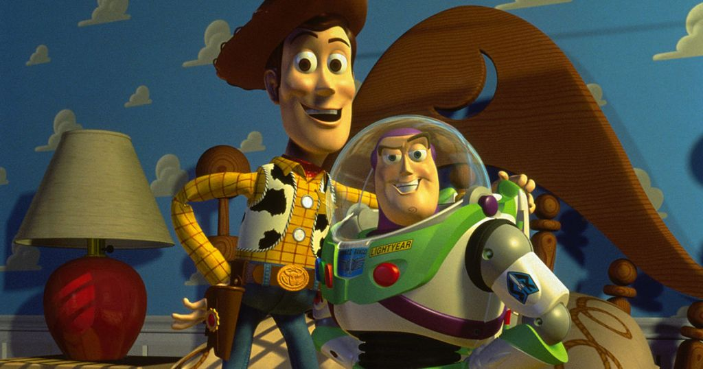 Celebrity Culture: Woody and Buzz in Toy Story