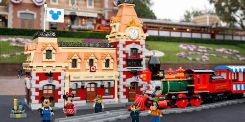 LEGO Disney Train and Station Looks Just Like The Real Thing
