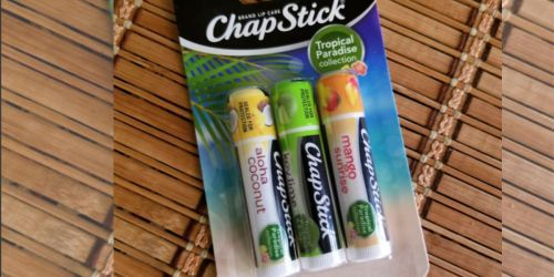 Chapstick Tropical Paradise Collection Lip Care 3 Pack Only $2.79 Shipped on Amazon