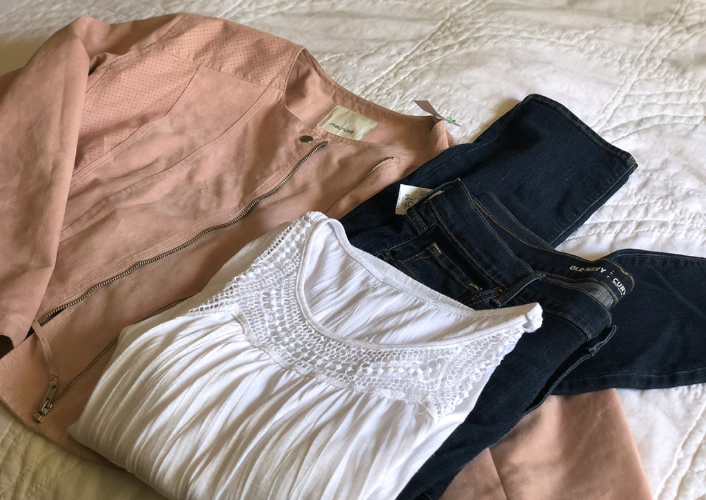 clothes from goodwill