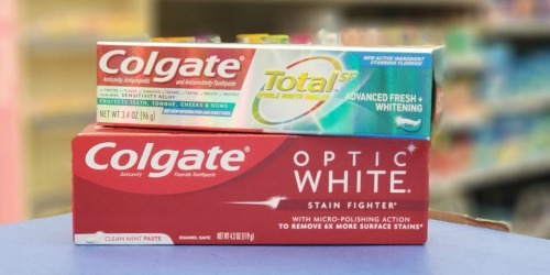 TWO Free Colgate Toothpastes After Walgreens Rewards