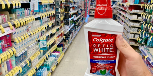 Colgate Optic White Mouthwash Just $1.24 After Walgreens Rewards