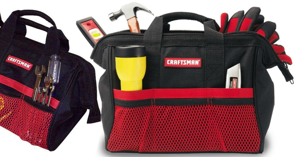 Two Craftsman Tool Bags Only 9 99 At Sears Regularly 22