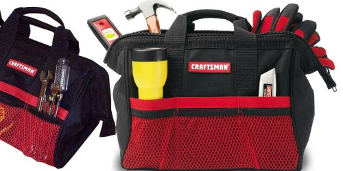 TWO Craftsman Tool Bags Only $9.99 at Sears (Regularly $22)