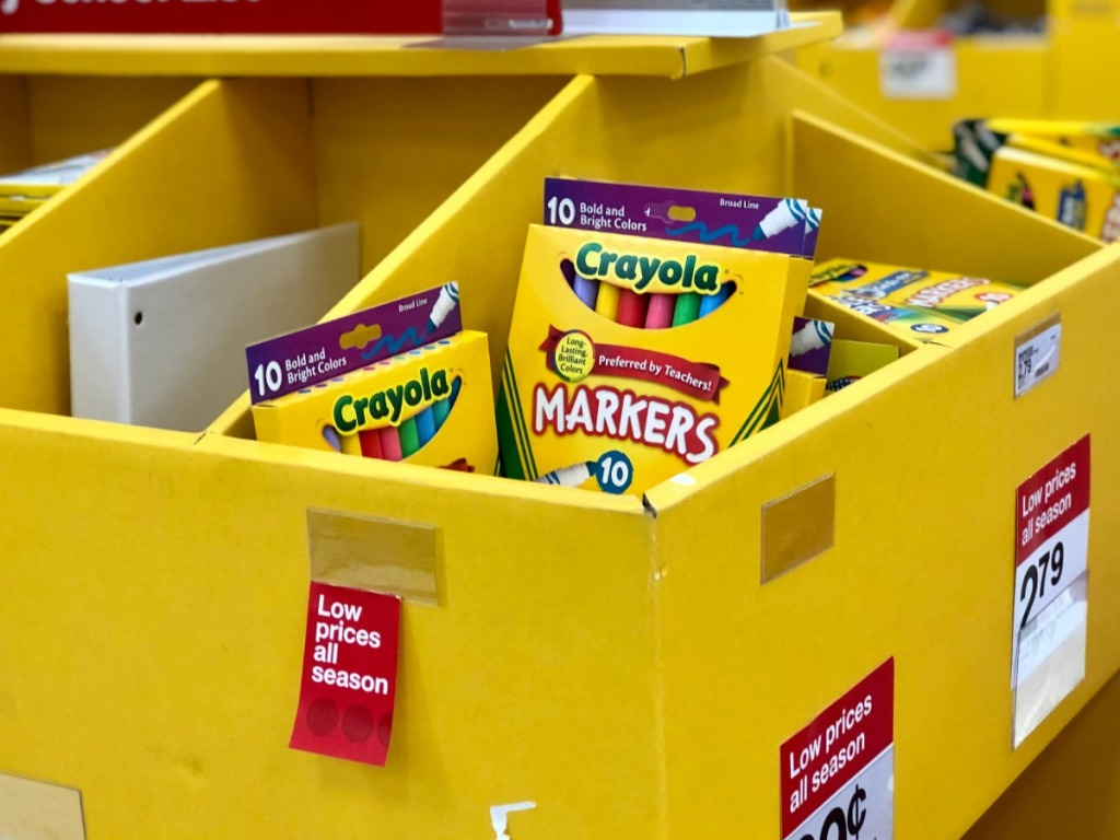 crayola markers in store