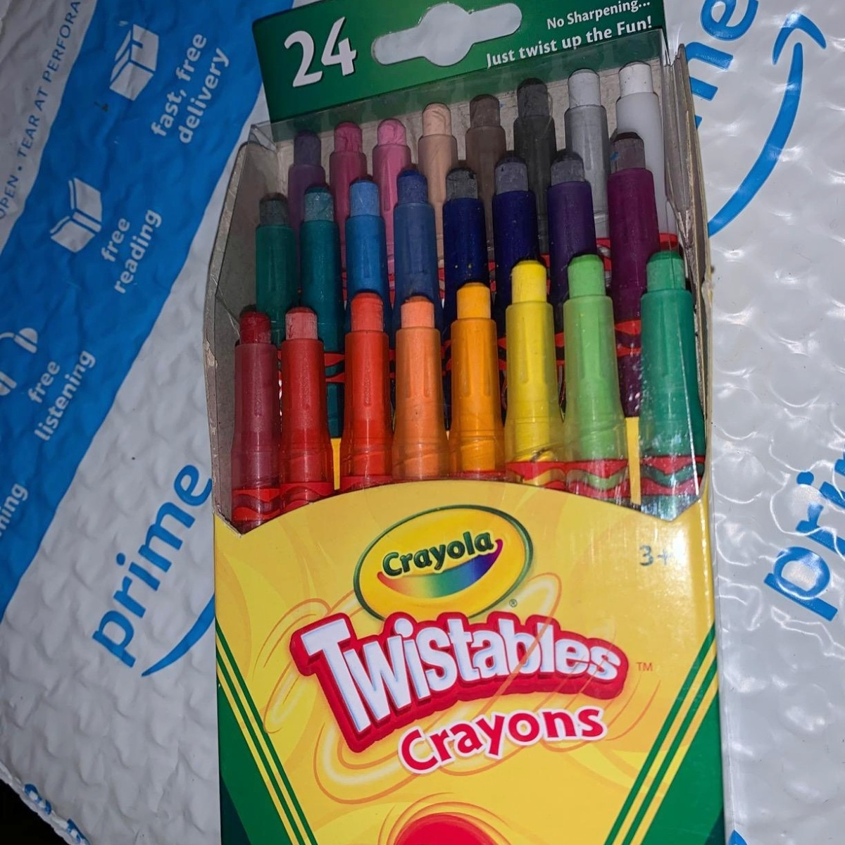 24 pack of twistable crayons