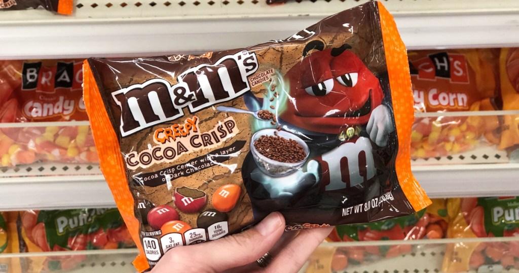 Creepy Cocoa Crisp M&Ms