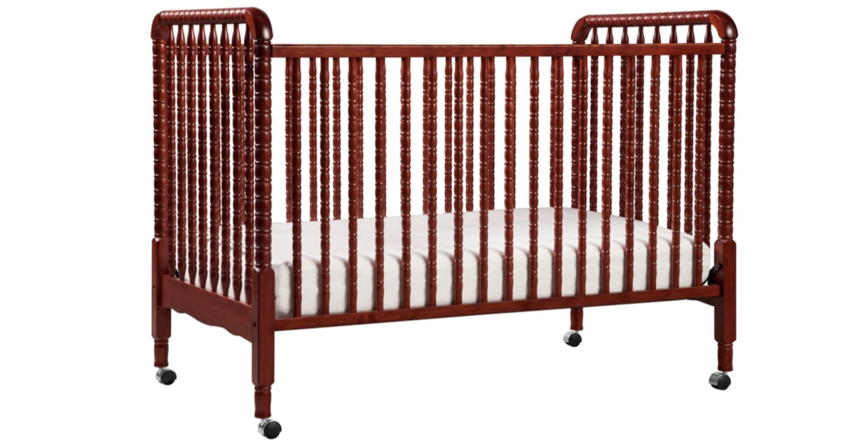 Stand alone cherry crib at kohl's