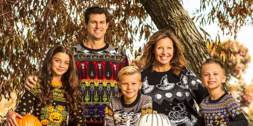 Ugly Halloween Sweaters Are This Year's Last-Minute Halloween Costume