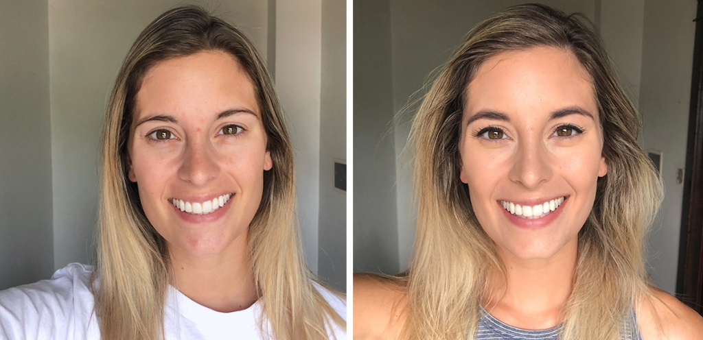 dollar general makeup before and after