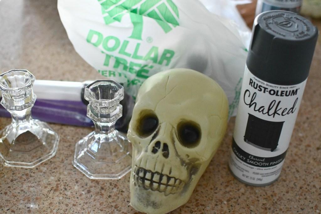 dollar tree halloween supplies