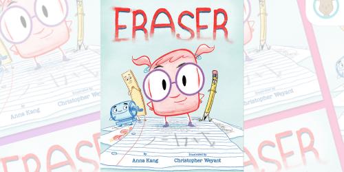 Eraser Hardcover Book Only $6.99 at Amazon (Regularly $18) | Award Winning Book
