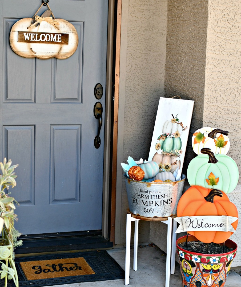 Use Hobby Lobby Fall Decor to Style Your Front Porch for $20 ...