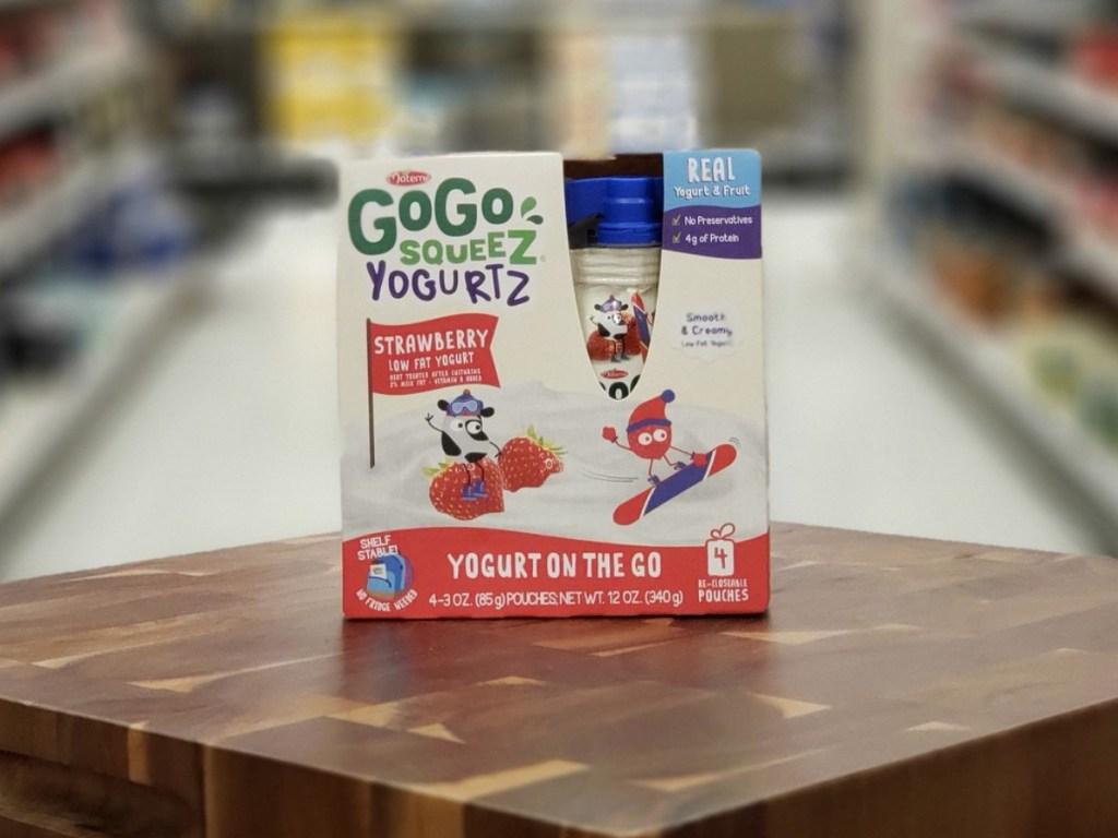 gogo squeeze yogurt at target