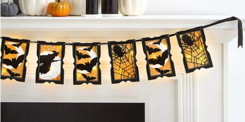 Save on Martha Stewart Halloween Banners, Window Clings & More at Amazon