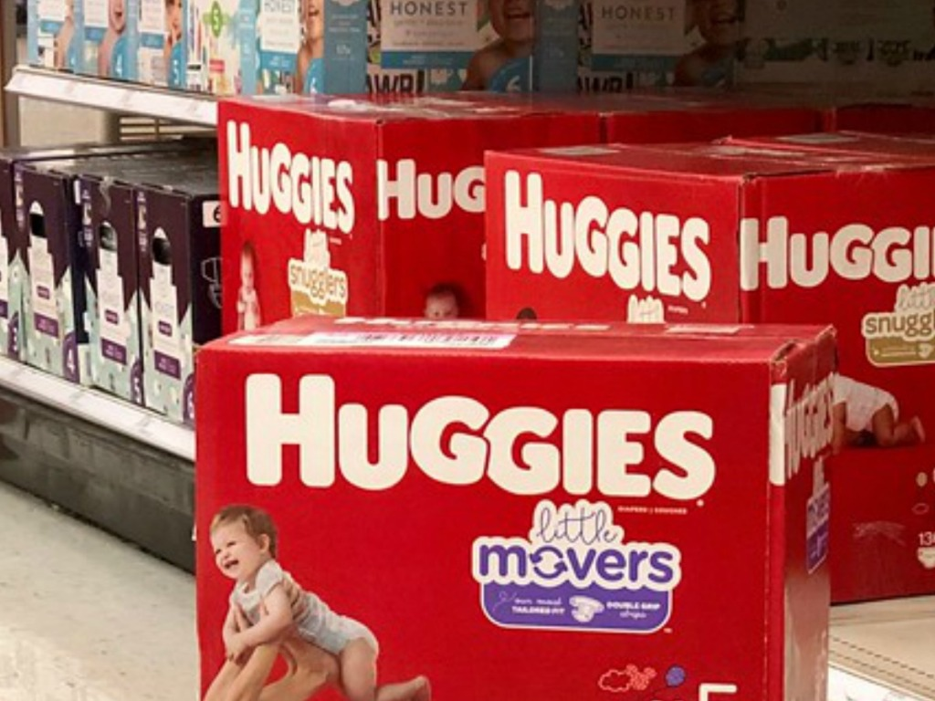 huggies little movers in store