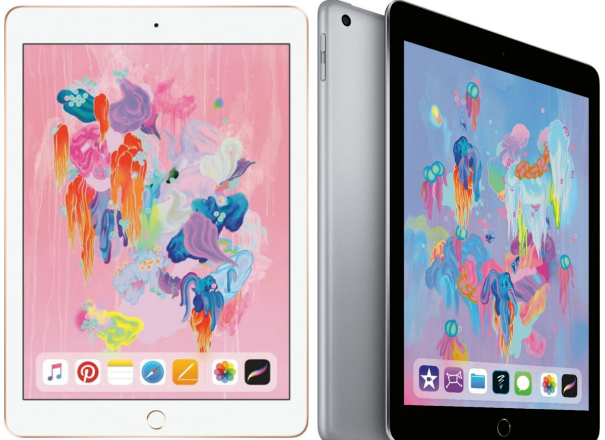 Latest Model of iPad from Best Buy at different angles