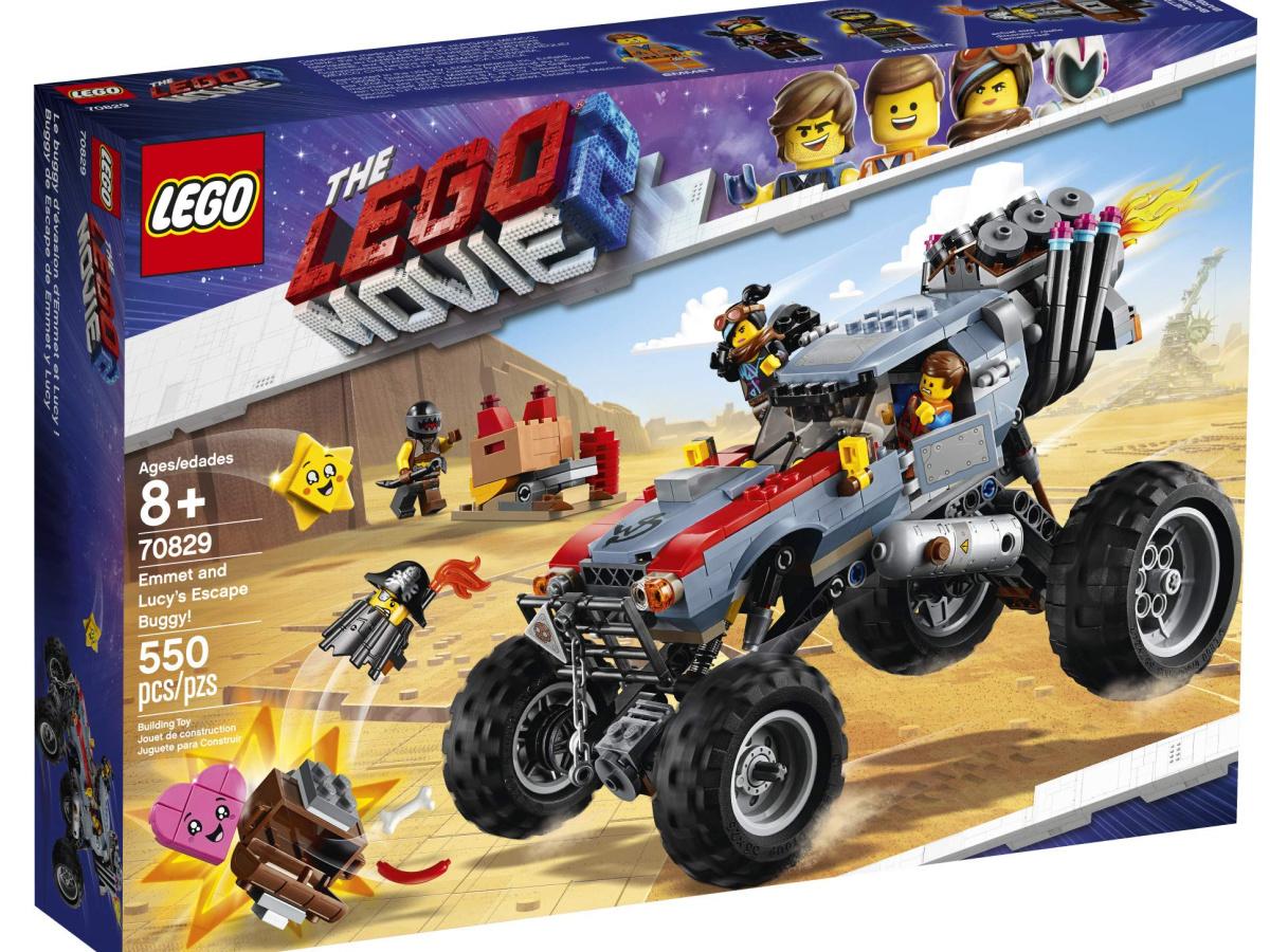 lego movie escape buggy