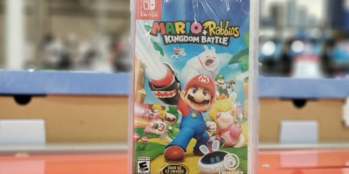 Mario + Rabbids Kingdom Battle AND Starlink Starter Pack Only $30 Shipped at Best Buy (Regularly $120)