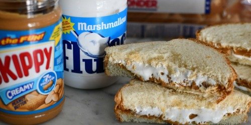 Marshmallow Fluff Sandwiches are Yummy and Nostalgic