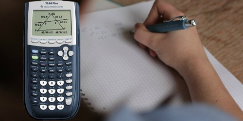 Texas Instruments TI-84 Plus Graphing Calculator Only $88 Shipped at Walmart (Regularly $116)