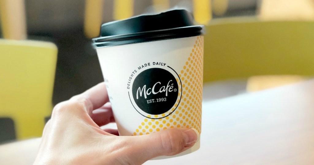 McCafe cup
