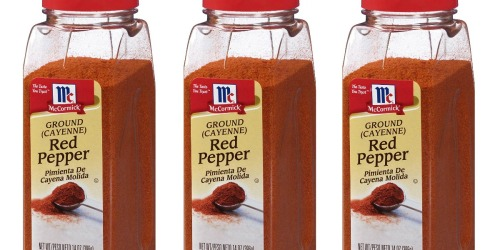 McCormick LARGE Ground Red Pepper 14oz Container Just $4.74 Shipped at Amazon