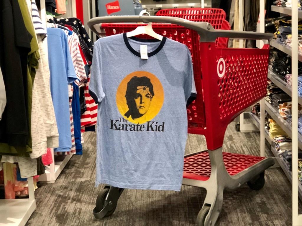 men's Karate Kids graphic t-shirt