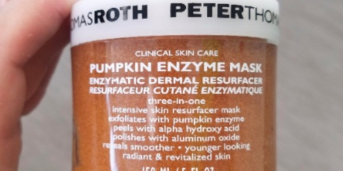 Peter Thomas Roth Pumpkin Enzyme Mask 5oz Jar Just $35 Shipped (Regularly $58)