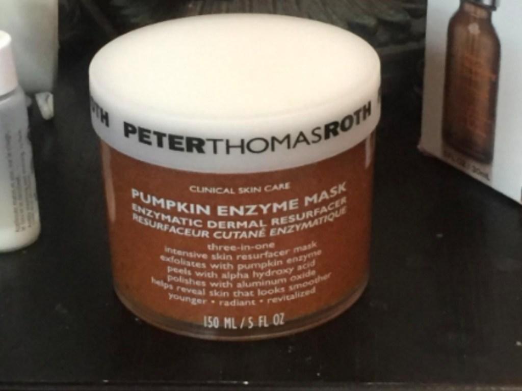 jar of pumpkin mask