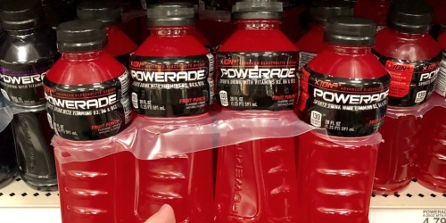 Powerade Zero Sports Drinks 24-Pack Only $10 on Amazon | Just 43¢ Each