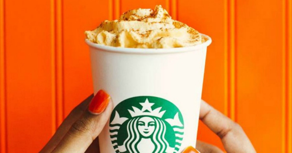 Starbucks Pumpkin Latte