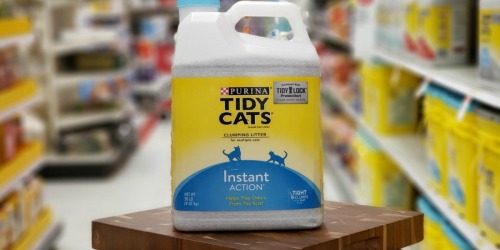 3 Purina Tidy Cats 20-Lb Litters Just $16.37 After Target Gift Cards | Ends Tonight