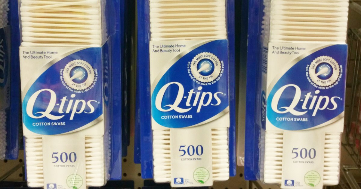 q-tips on display 500 count