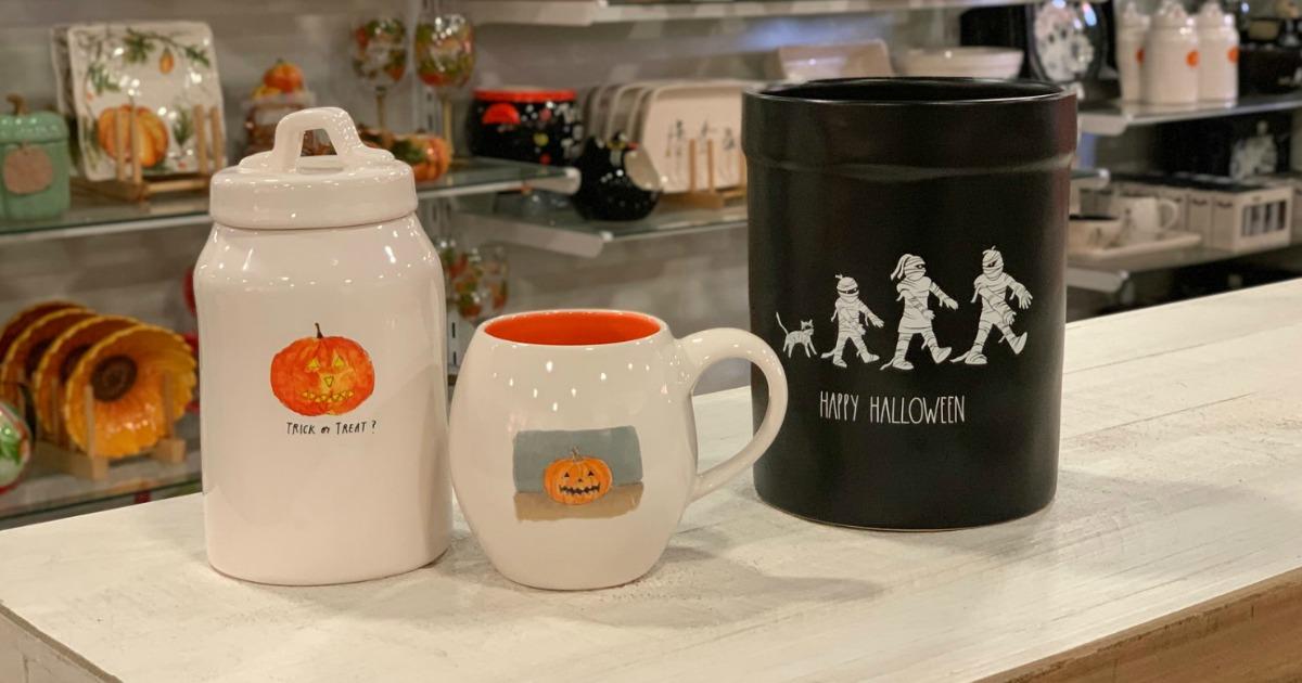 Rae Dun Halloween ceramic decor in-store