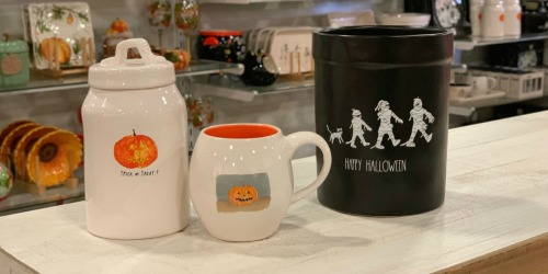 Rae Dunn Halloween Items Are Available at TJ Maxx Now | Score Dinnerware, Decor & More