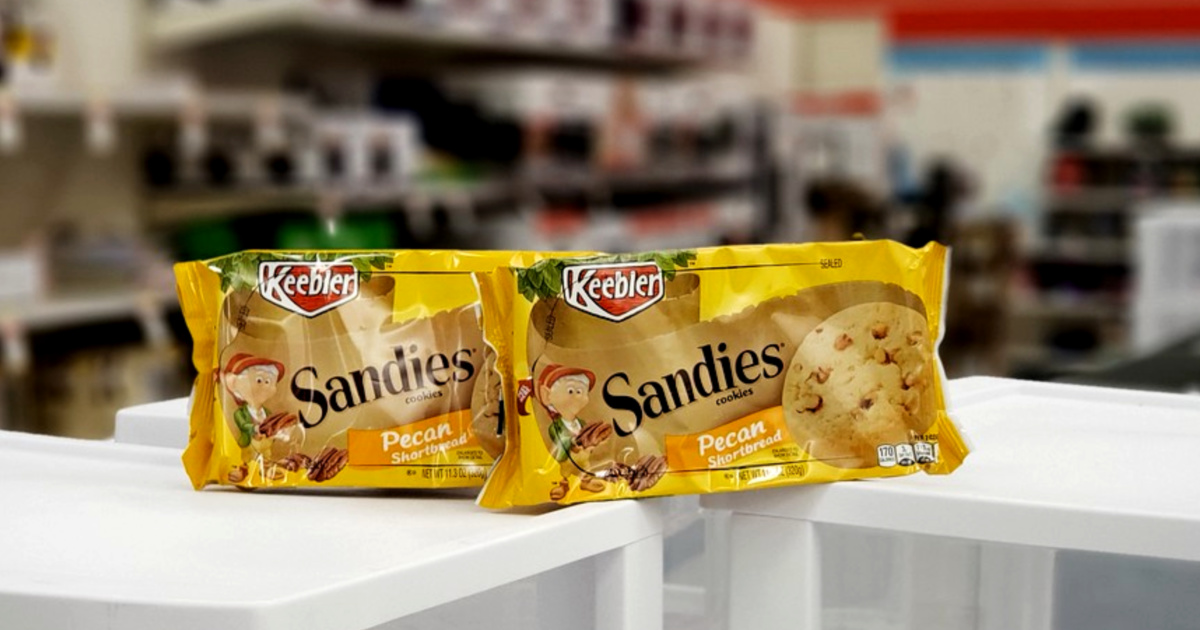 Keebler Sandies Cookies ONLY $...