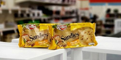 New $1/2 Keebler Coupon = Sandies Cookies Only $1.50 Each at Target