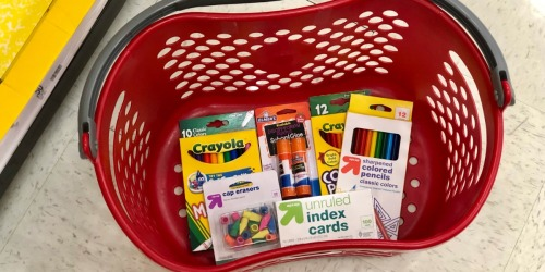 15% Off Target School Supplies & Backpacks (In-Store & Online)