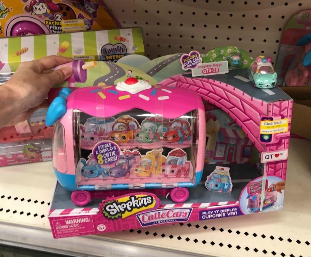 shopkins van cutie cars