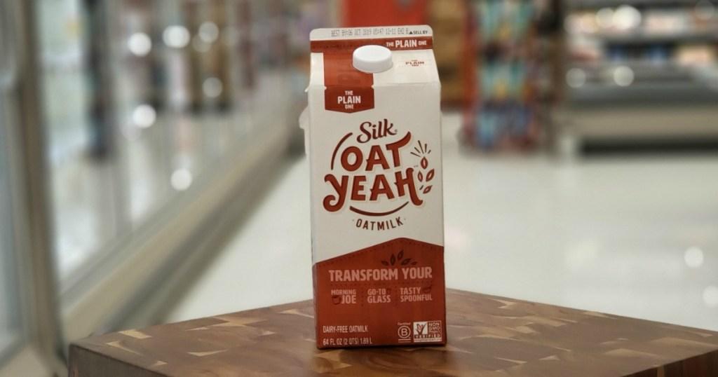 silk oat yeah milk