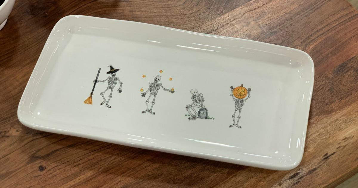 Skeleton tray
