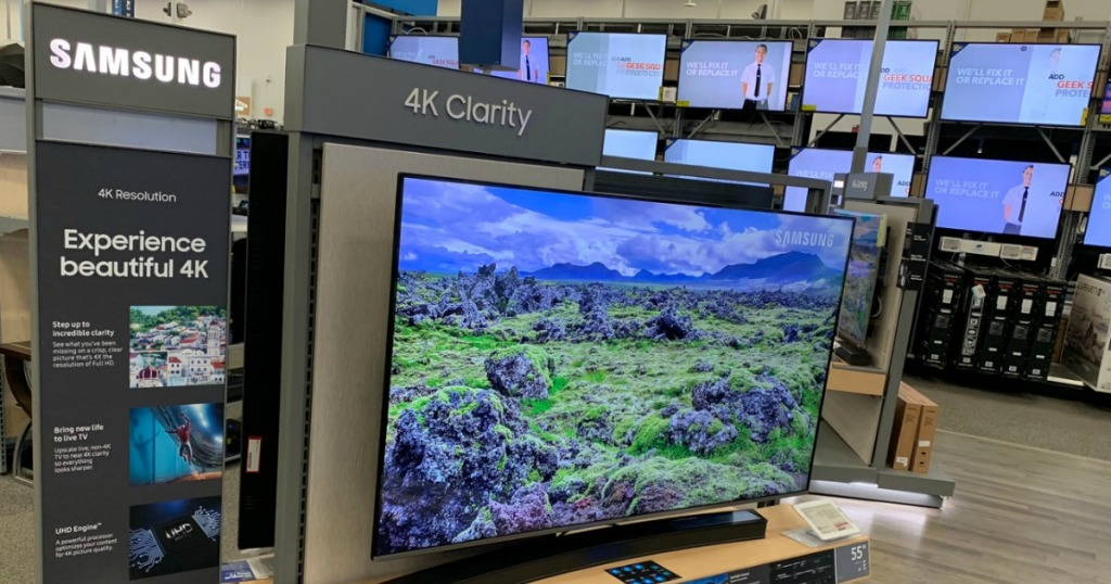 Smart TVs at Best buy