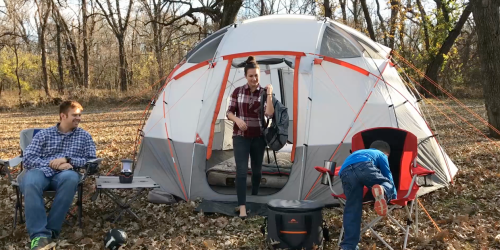 Ozark Trail 12-Person Sphere Tent Only $99 at Walmart (Regularly $175)