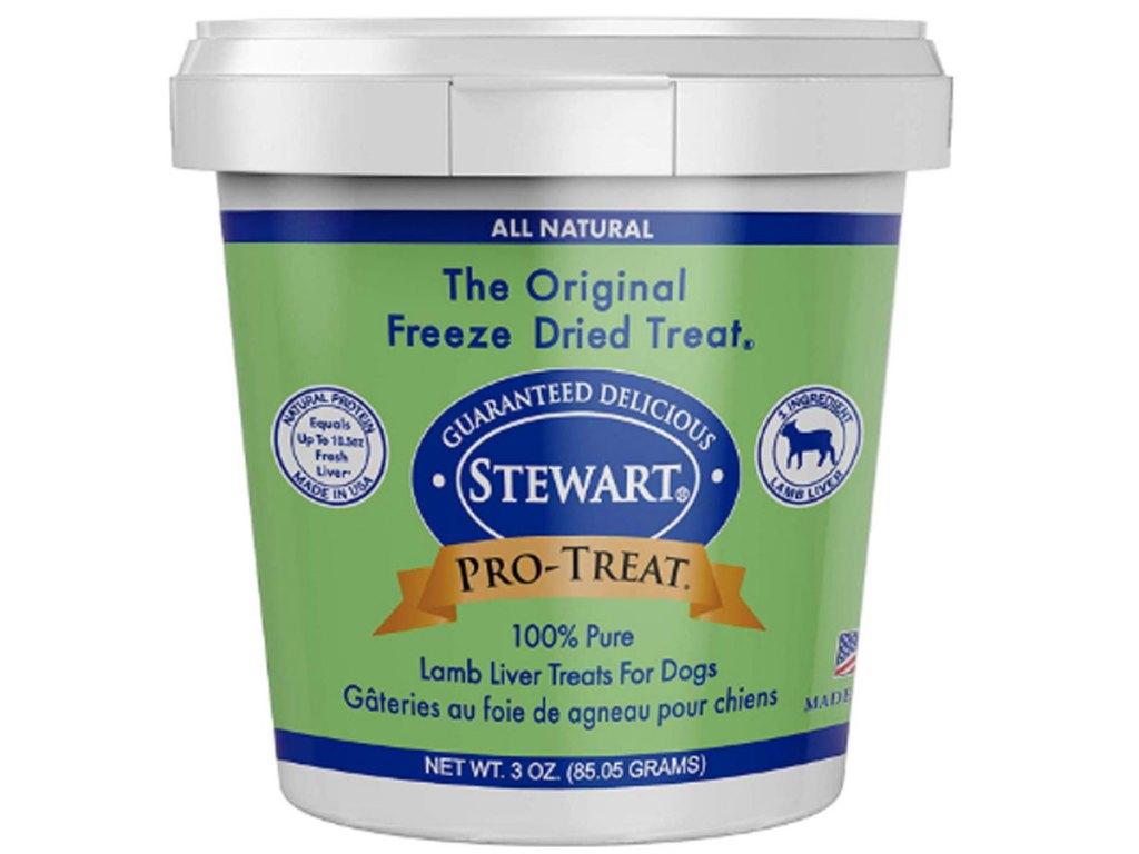 stewart freeze dried dog treat lamb stock image